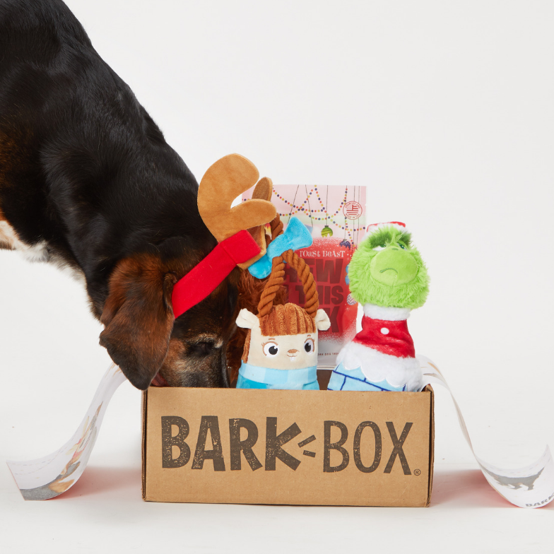 Subscription boxes like Bark Box and Stitch Fix make amazing gifts (especially for last-minute and long-distance shoppers).