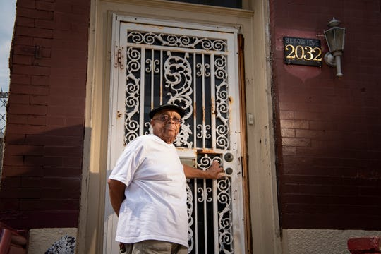 """Leroy Roebuck is fighting to keep his home of at least 55 years where he raised all his kids. He says, """"They ain't gonna take this house. I'll go to the deep blue sea. They're not gonna take this house."""""""