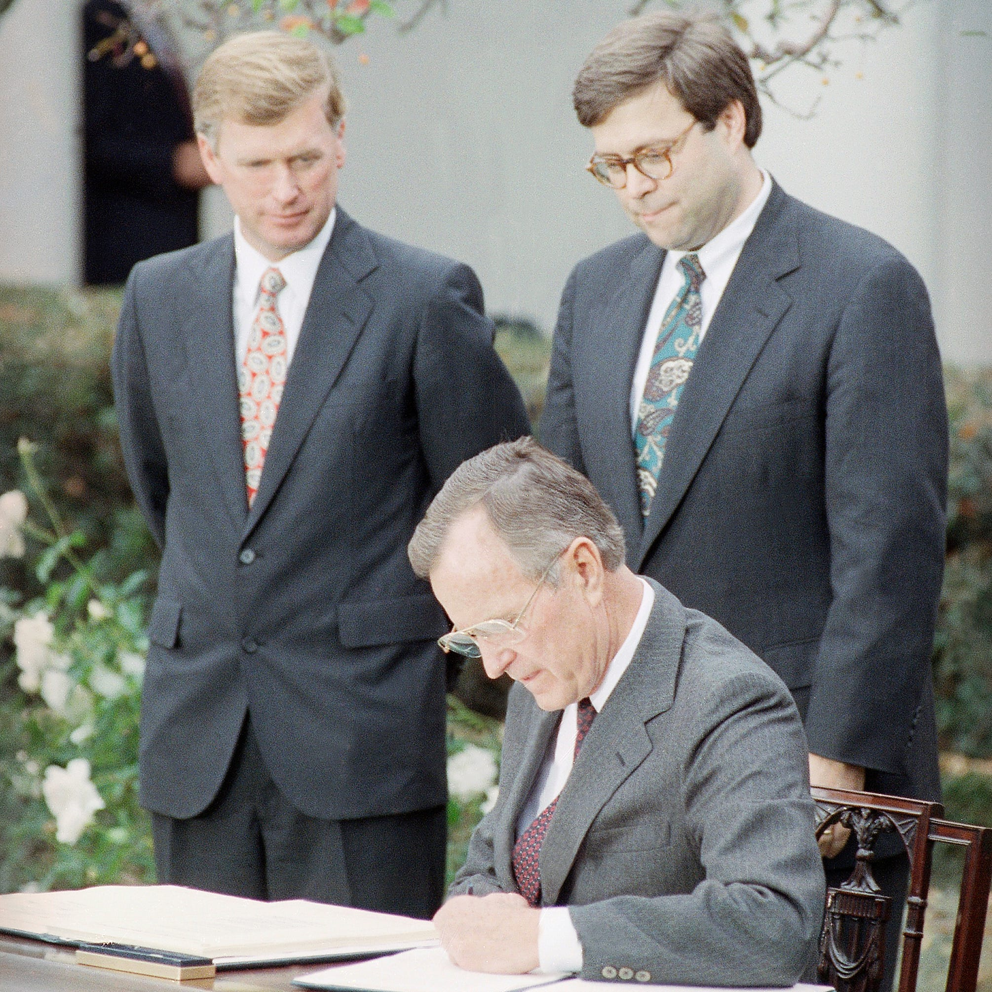What if George H.W. Bush had served two terms as president?