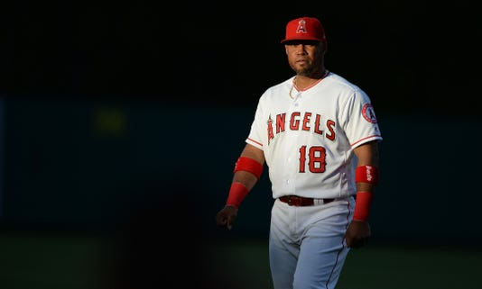 Mlb Texas Rangers At Los Angeles Angels