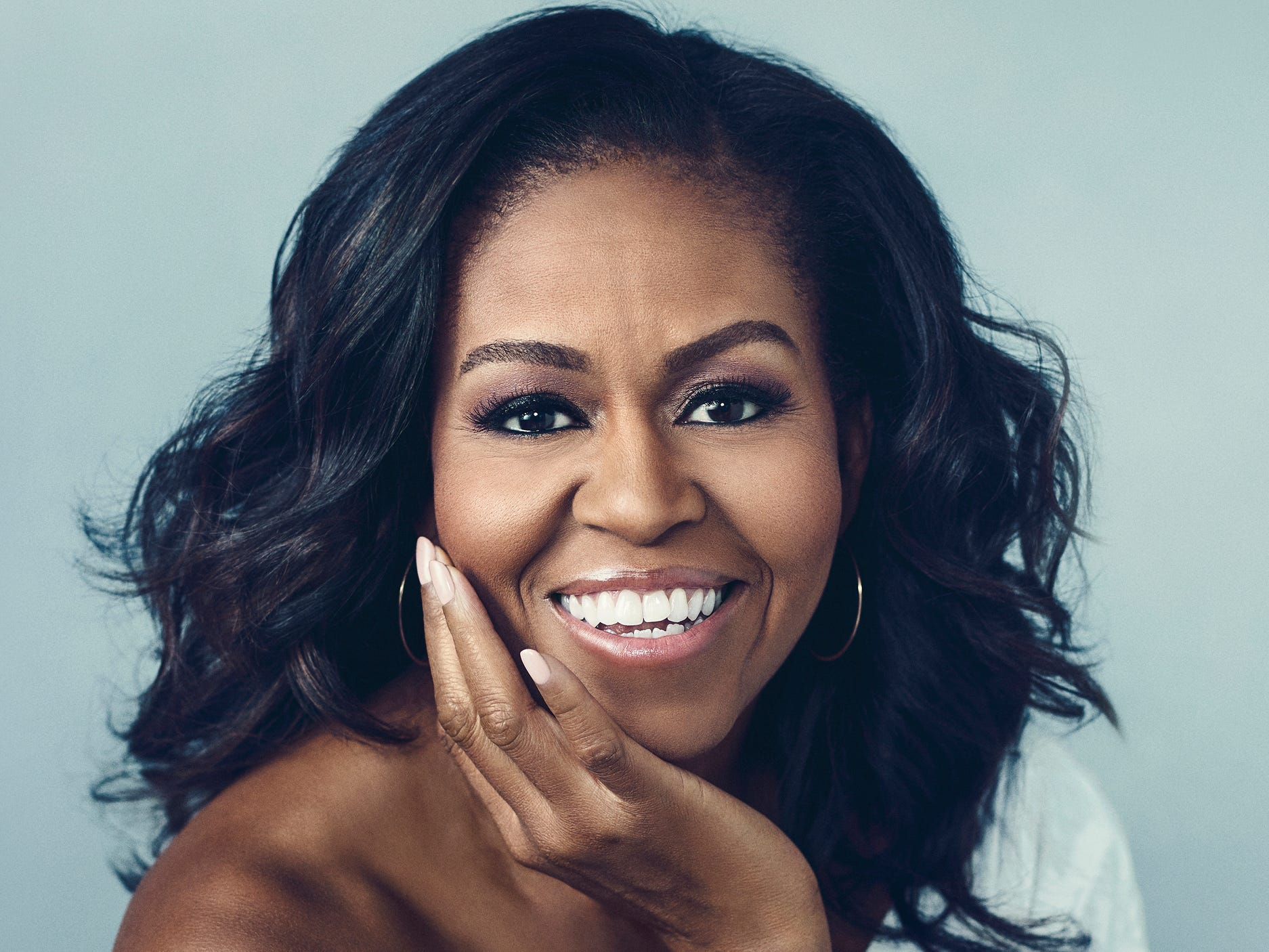 """""""Becoming"""" by Michelle Obama."""