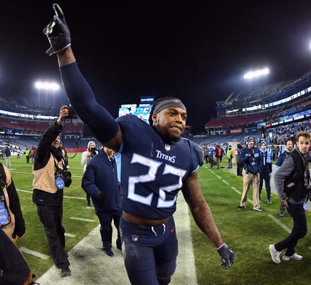 Derrick Henry made history for Tennessee Titans: A look at