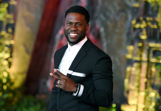 """Comic superstar Kevin Hart is bringing his """"Irresponsible Tour"""" to the Bay Center on Sunday."""