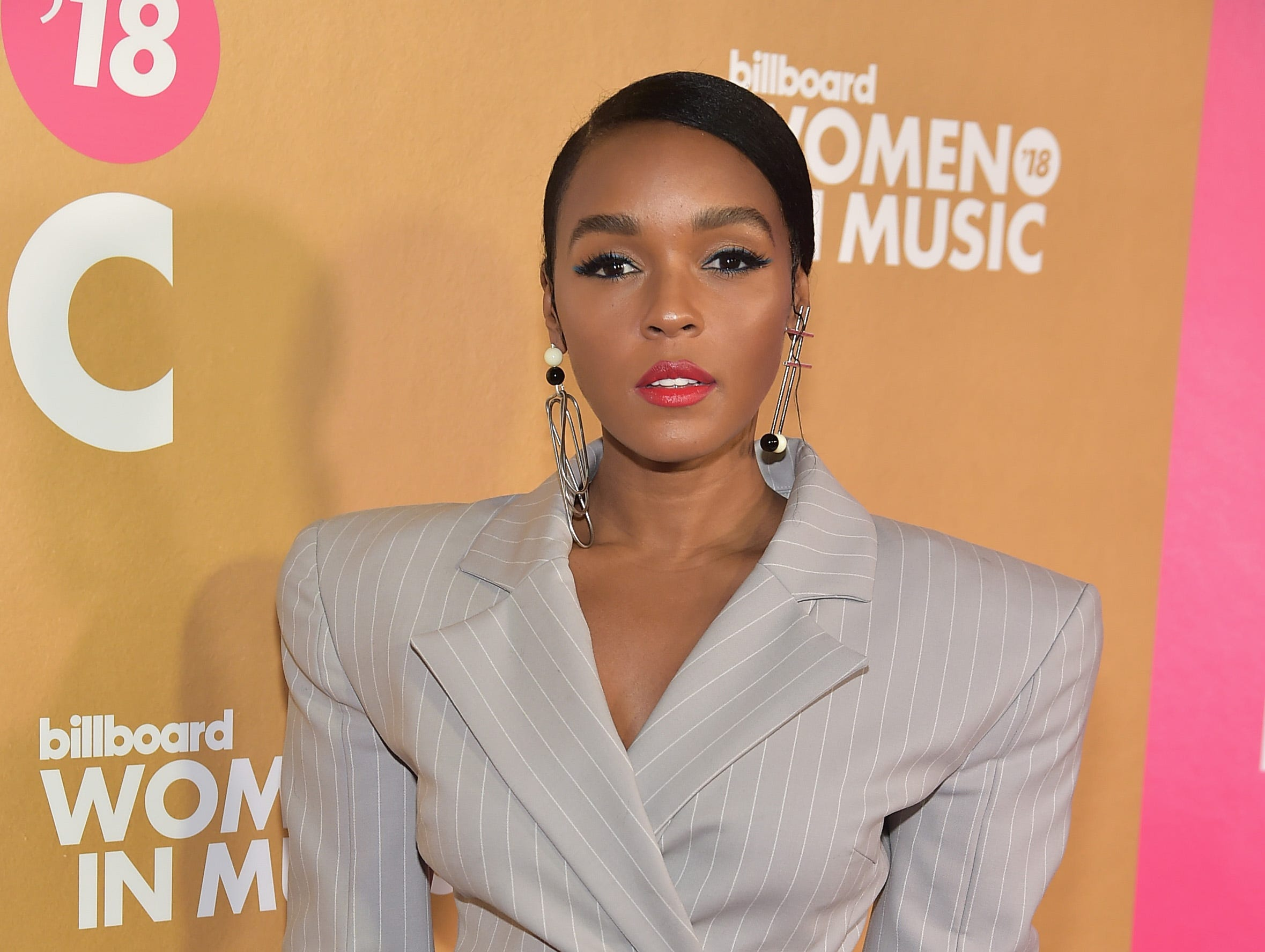 NEW YORK, NEW YORK - DECEMBER 06: Janelle Monáe attends Billboard's 13th Annual Women In Music Event at Pier 36 on December 06, 2018 in New York City. (Photo by Theo Wargo/Getty Images) ORG XMIT: 775259767 ORIG FILE ID: 1078270184