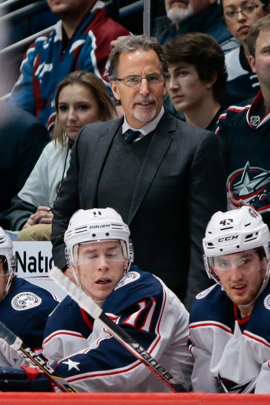 Nhl Columbus Blue Jackets At Colorado Avalanche
