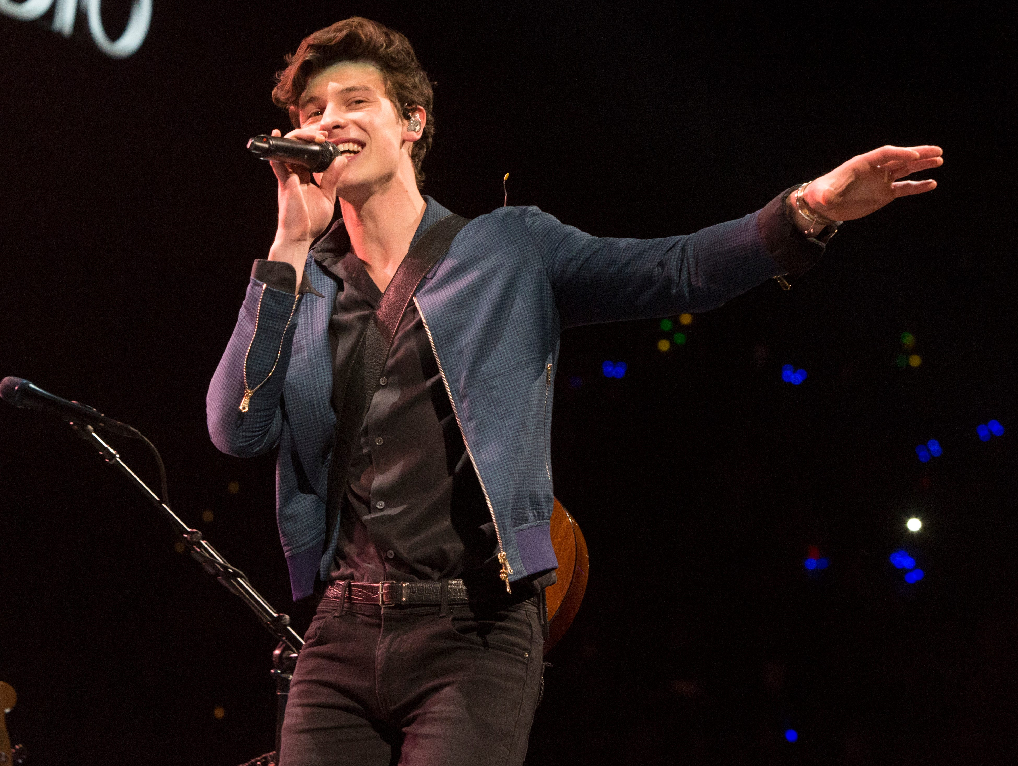 Shawn Mendes also took the stage at the concert.