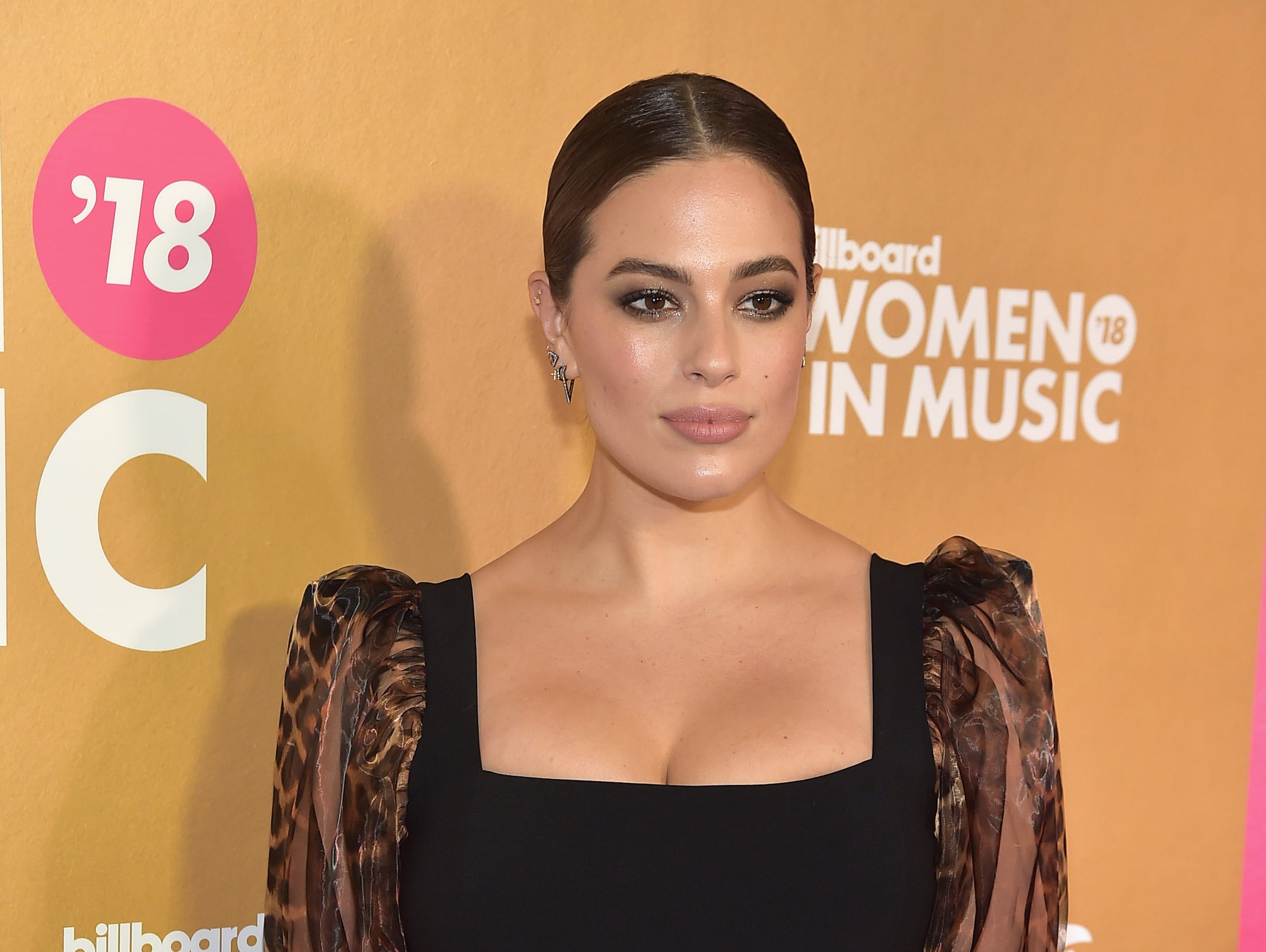 NEW YORK, NEW YORK - DECEMBER 06: Ashley Graham attends Billboard's 13th Annual Women In Music Event at Pier 36 on December 06, 2018 in New York City. (Photo by Theo Wargo/Getty Images) ORG XMIT: 775259767 ORIG FILE ID: 1078271748