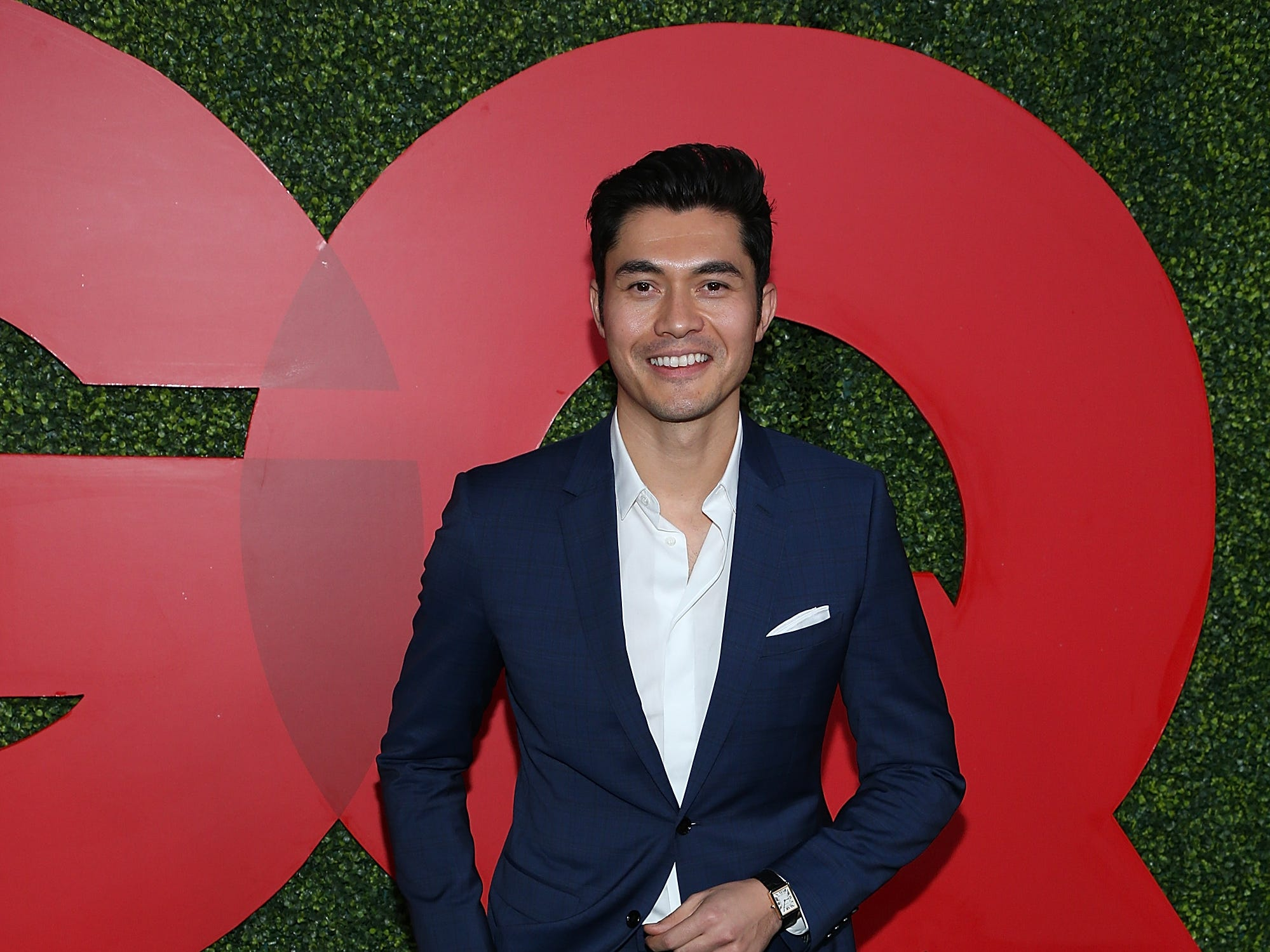 """Also in attendance: """"Crazy Rich Asians"""" star Henry Golding."""