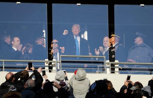 Ap Army Navy Trump Football S A Fbc File Usa Md