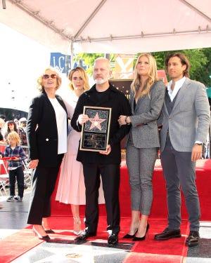 Jessica Lange, Sarah Paulson, Ryan Murphy, Gwyneth Paltrow and Brad Falchuk.
