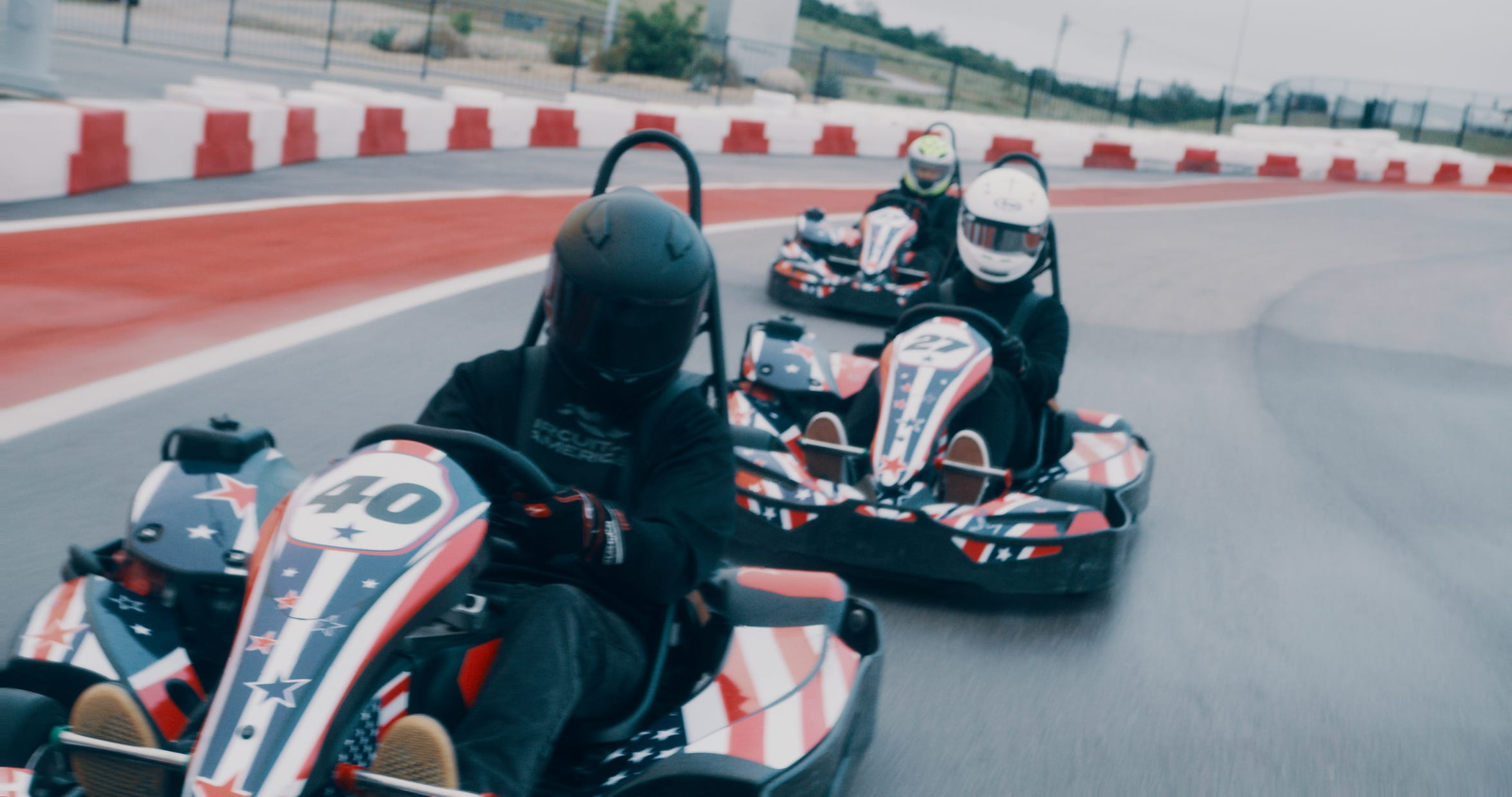 For $28 a driver, COTA visitors can speed through a course just under a mile long while driving at speeds of 50 mph.