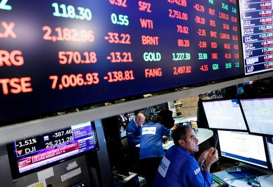 Dow Jones, stocks sell-off caps volatile week on bearish note