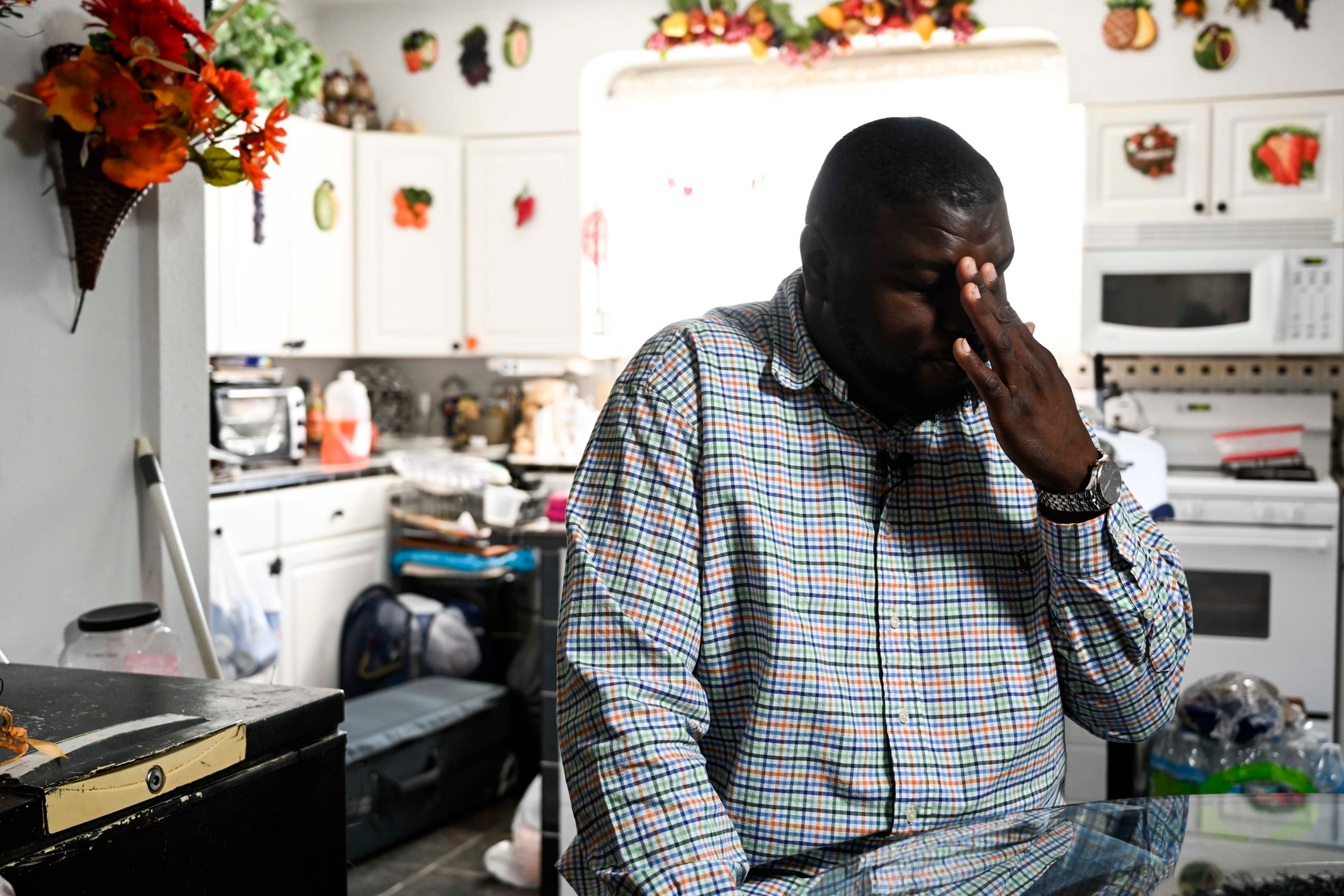 """Jamal Wright said excitement turned to horror in the hours after his then-girlfriend Nicole Phillips gave birth. """"I expected her to get the best care possible. That didn't happen though,"""" said Wright, who is raising their daughter, Janaya."""