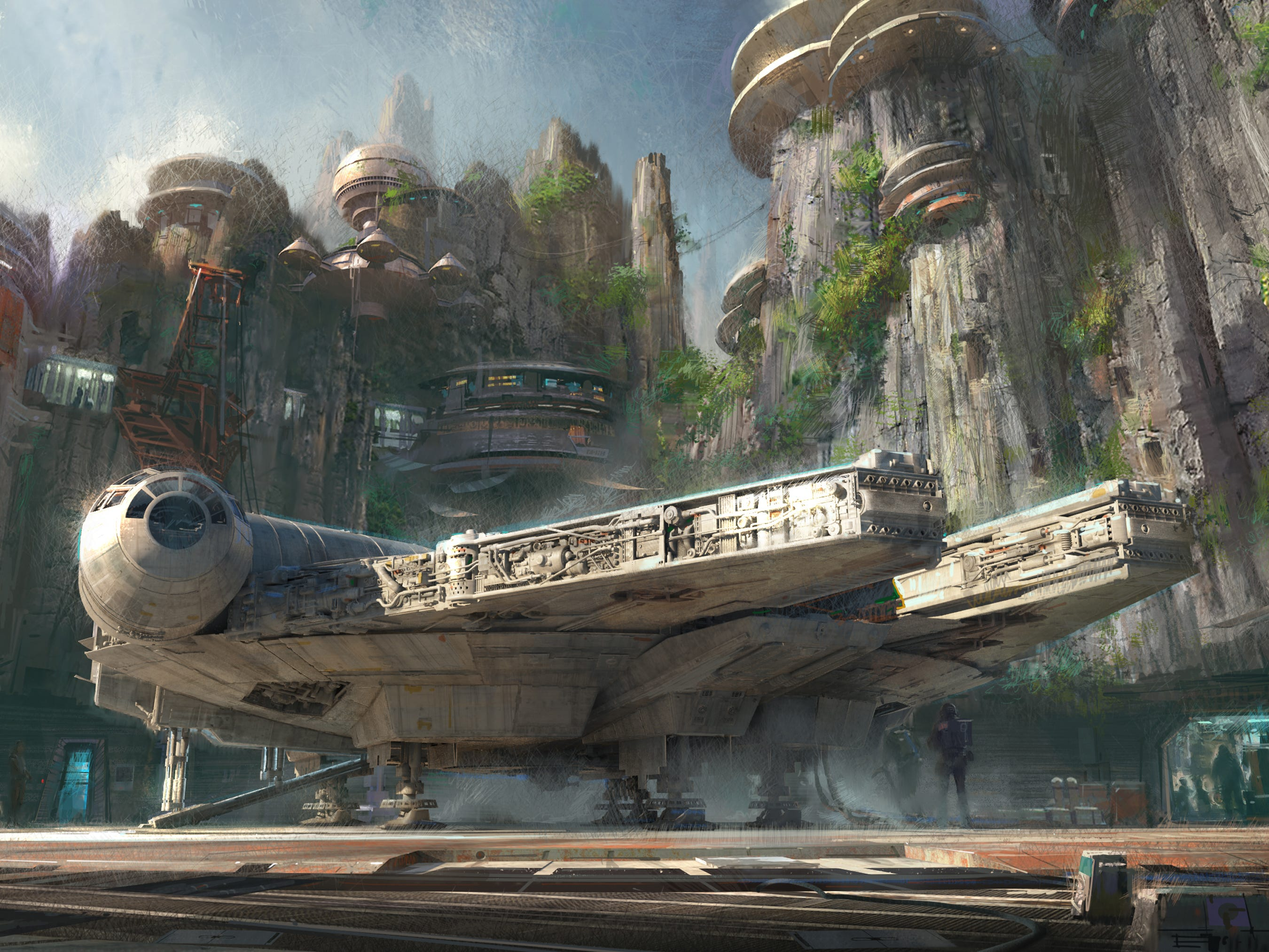 The biggest news in the theme park world for 2019 will be the opening of the Star Wars lands coming to Disneyland in California and Disney's Hollywood Studios in Florida. In one of the attractions, guests will play hands-on roles piloting the famed Millennium Falcon spaceship.