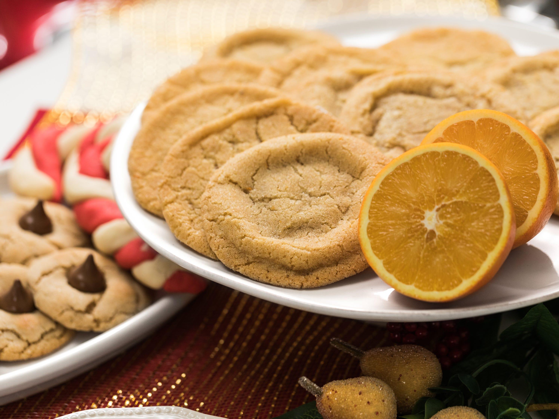 Orange-cinnamon-maple doodle cookies