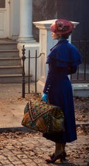 Mary Poppins (Emily Blunt) returns to the Banks home after many years and uses her magical skills to help the now grown-up Michael and Jane.