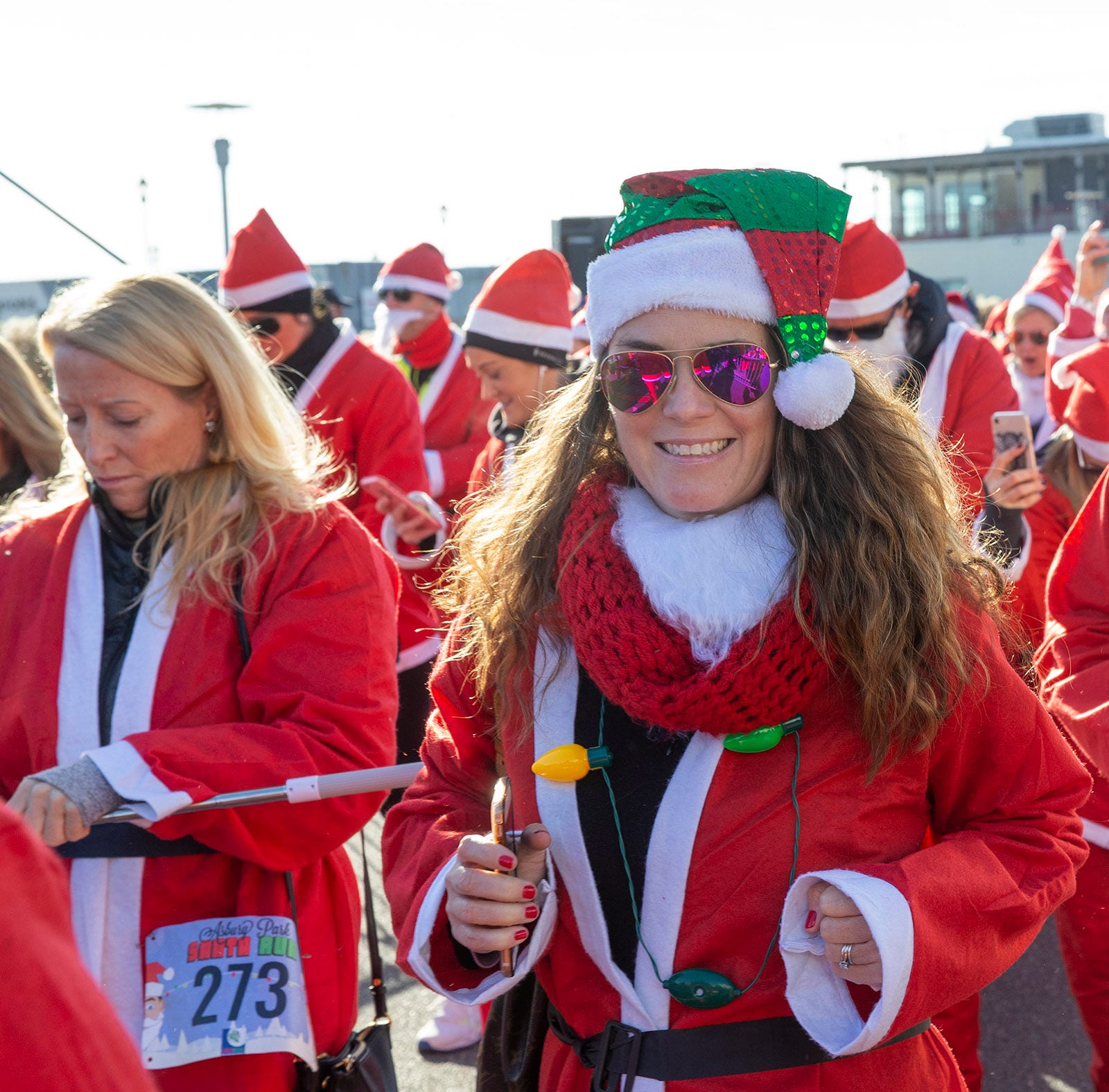 Asbury Park is stuffed with Santa Clauses