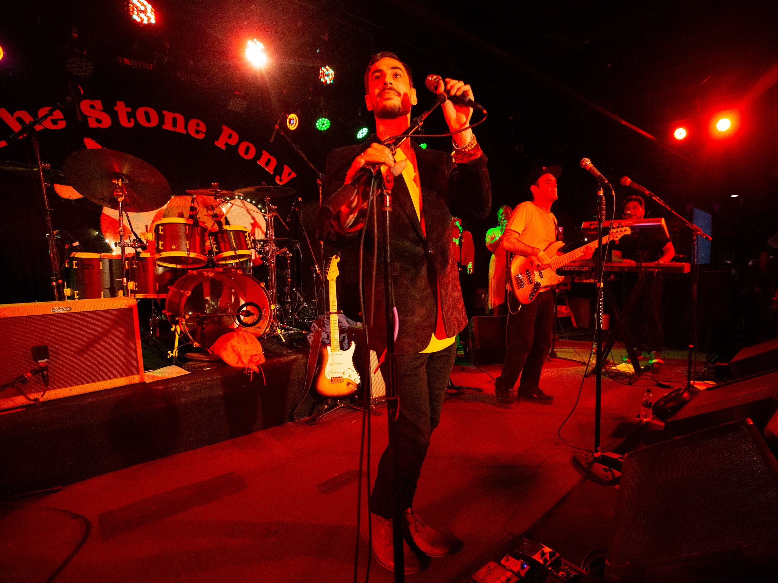 Quincy Mumford and the Reason Why's tribute to Prince at the Stone Pony in Asbury Park on December 7, 2018.