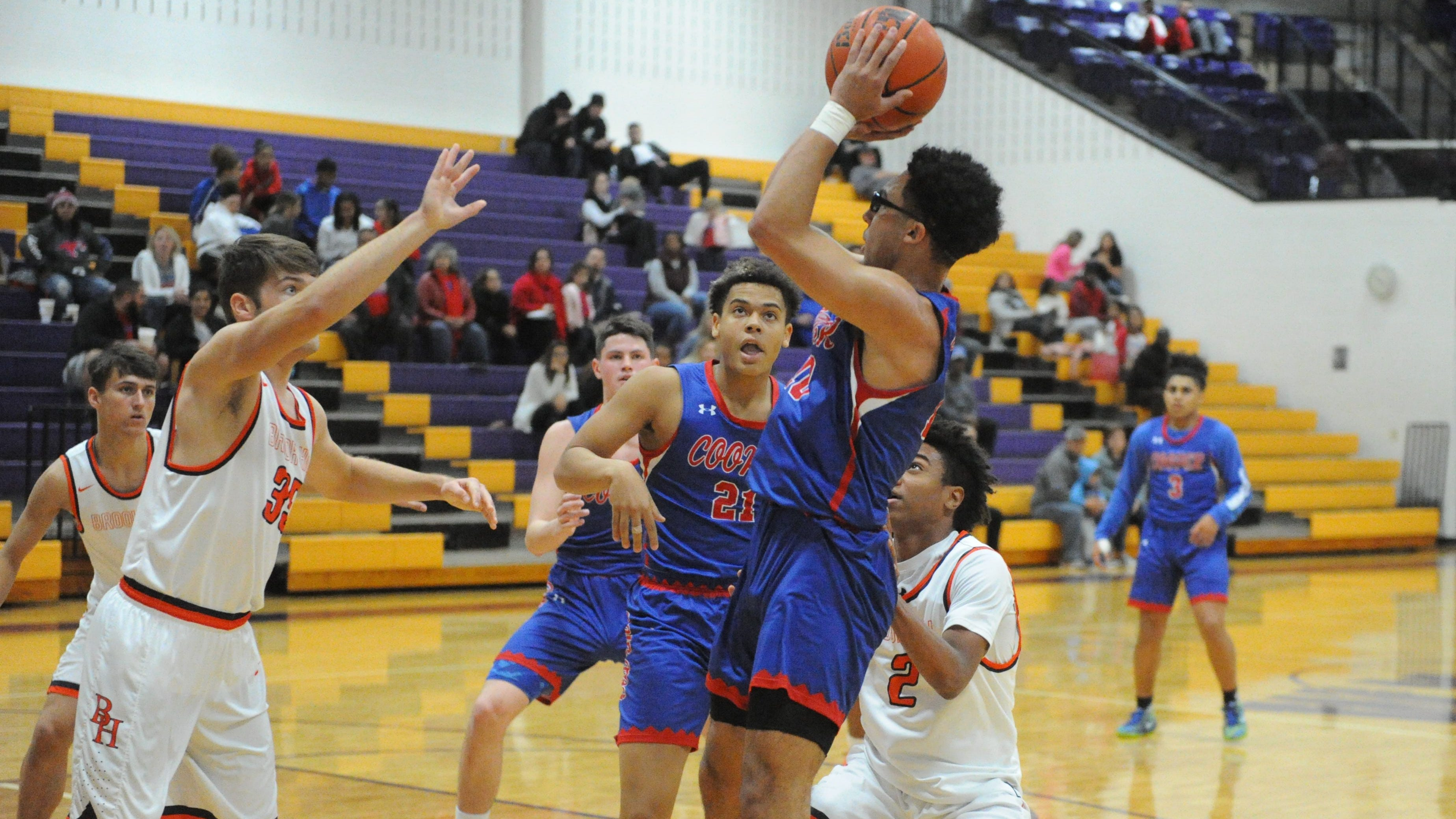 Abilene Cooper boys basketball staves off Brook Hill to close Catclaw Classic