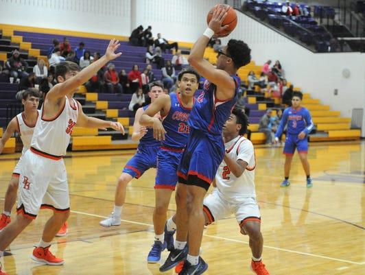 Abilene Cooper boys basketball Ben Thompson