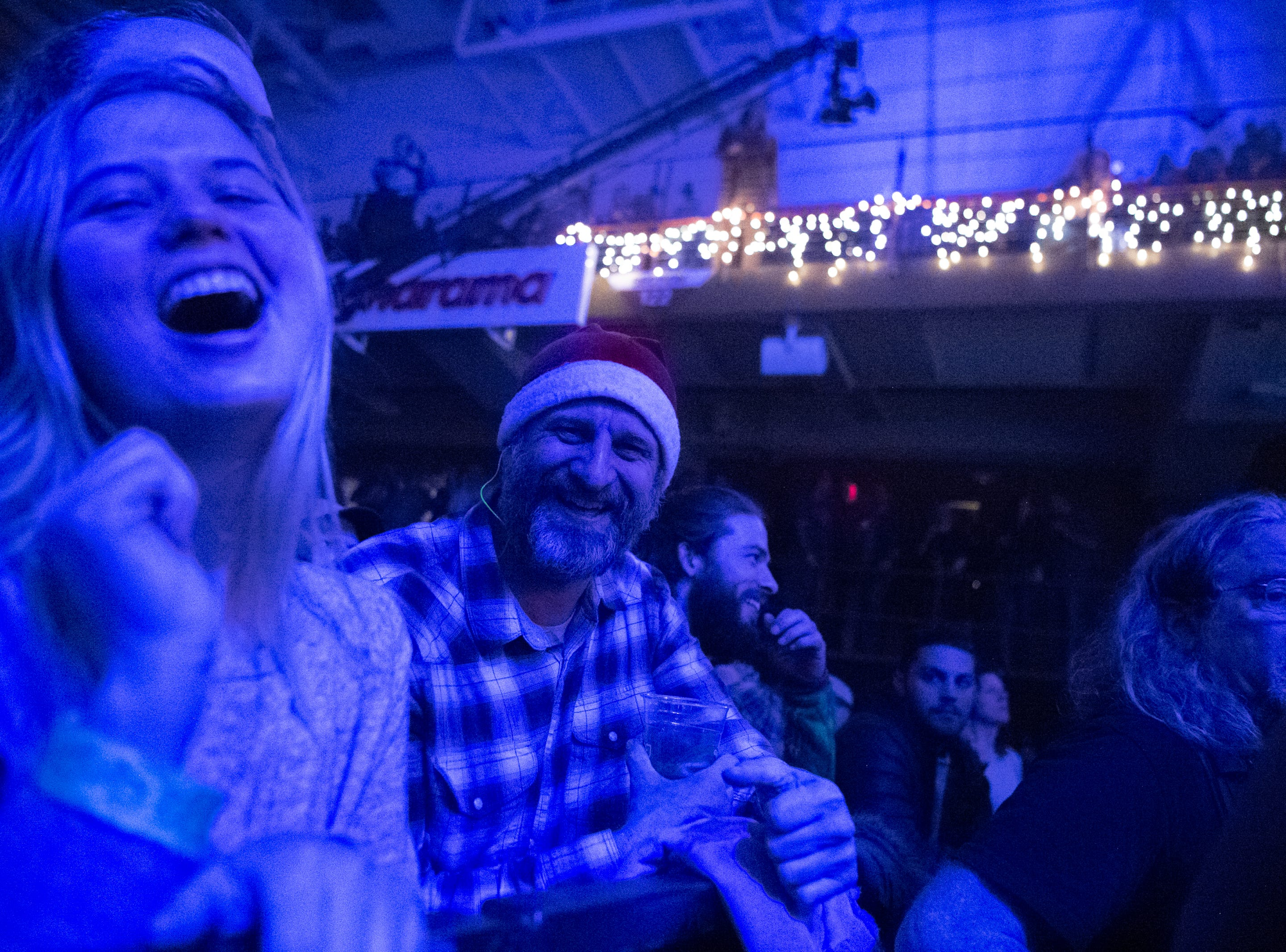 Night one of the 30th annual Christmas Jam took place at the U.S Cellular Center in Asheville, Dec. 7, 2018, and included Dark Side of the Mule, Jamey Johnson, Grace Potter, Mike Gordon, Marco Benevento as well as other special guests.