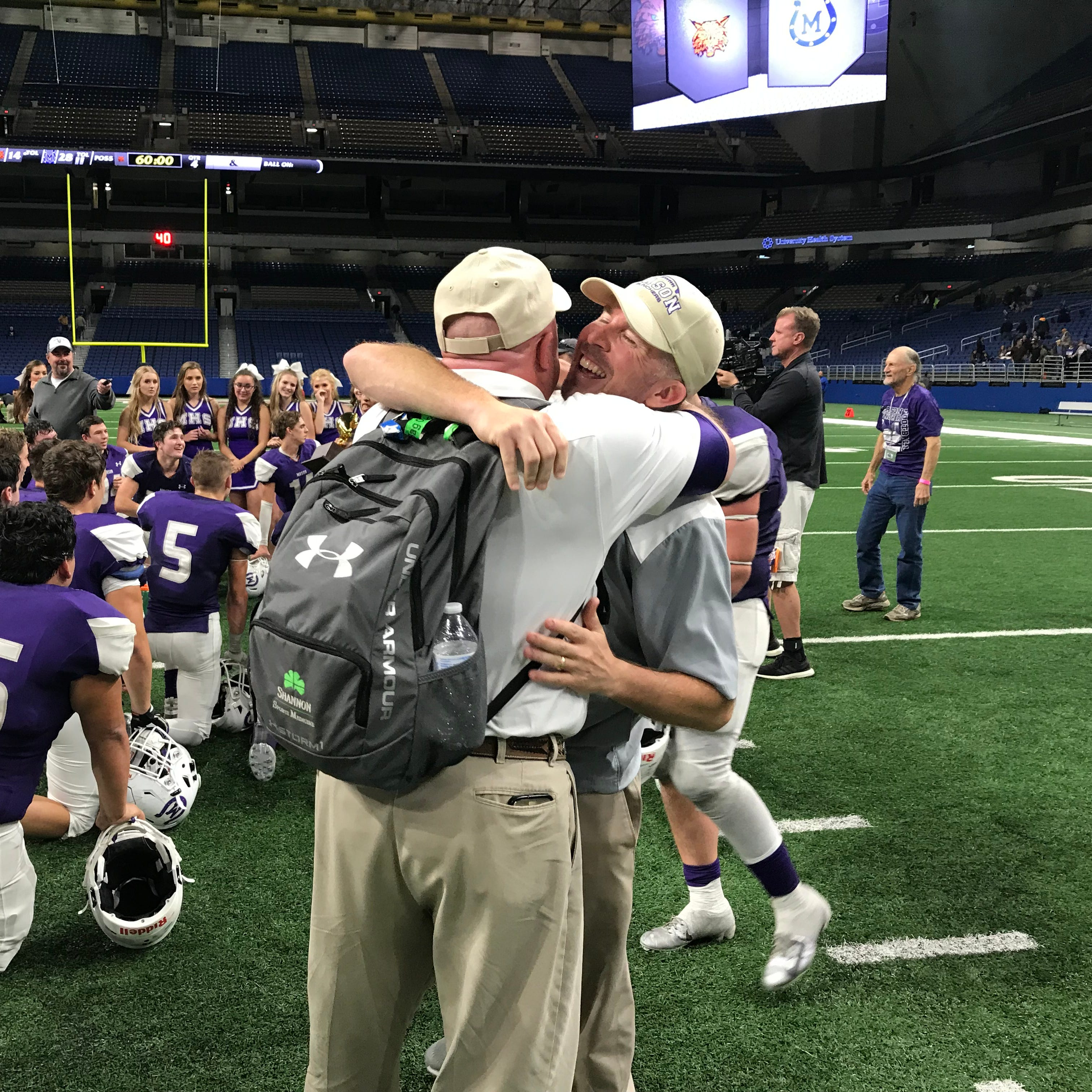No. 1 Mason marches past old nemesis Refugio, into state semifinals