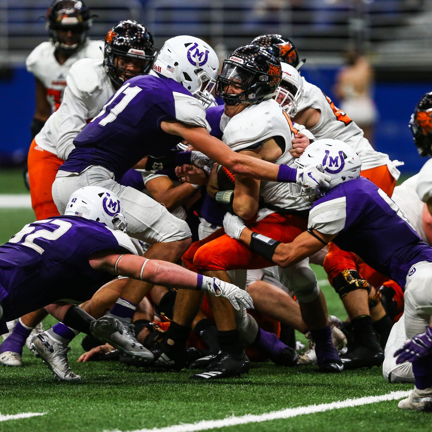 Goal-line stand propels Mason past Refugio in Class 2A state quarterfinals