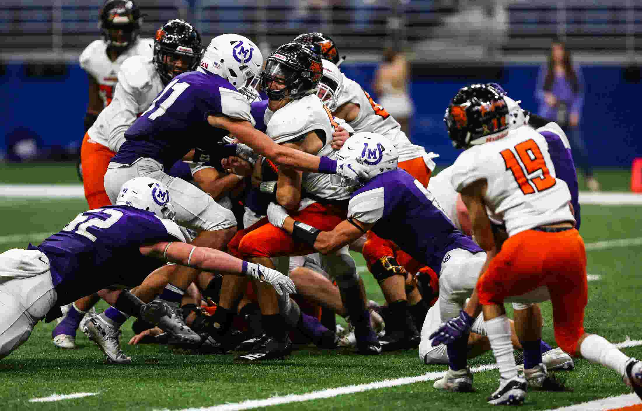 Goal Line Stand Leads Mason Past Refugio In Class 2a State Quarters