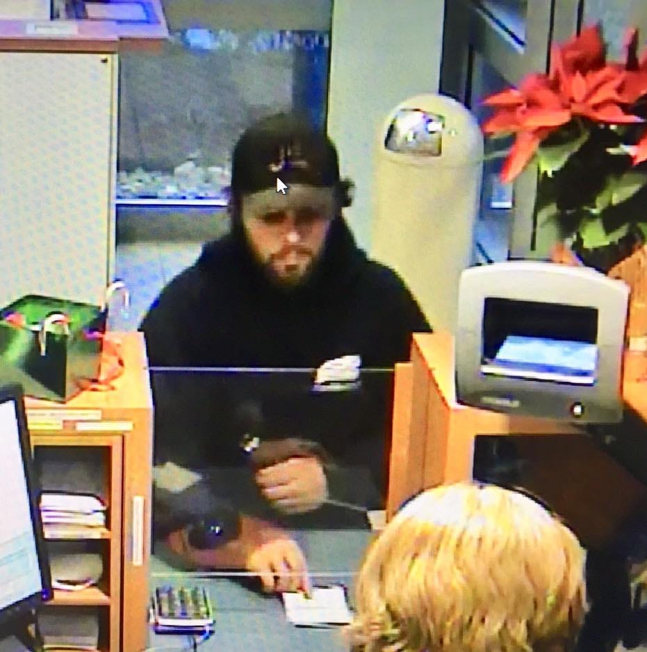Franklinville man arrested in Washington Township bank robbery