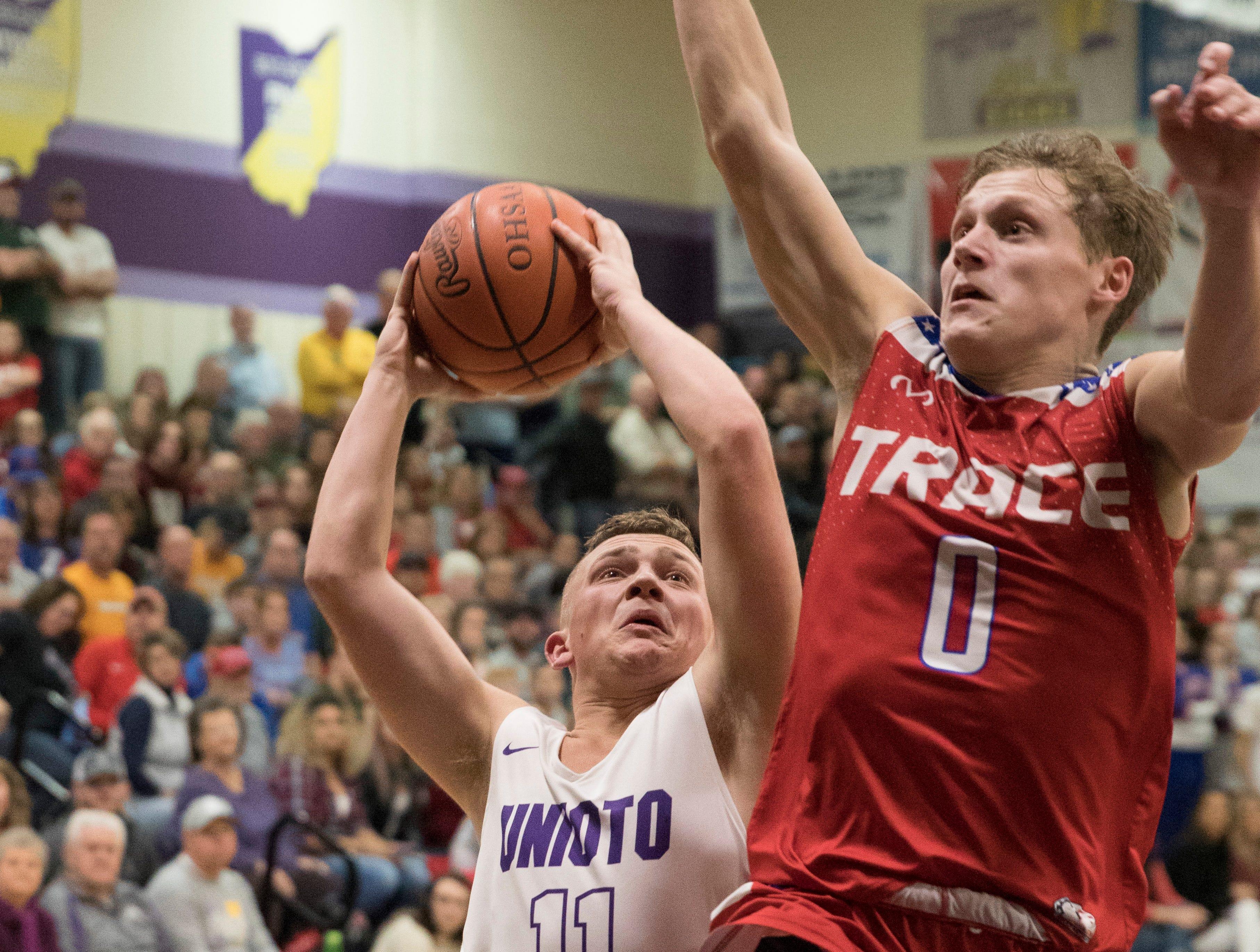 Zane Trace defeated Unioto 69-50 Friday night at Unioto High School, breaking Unioto's historic 69 game SVC winning streak.
