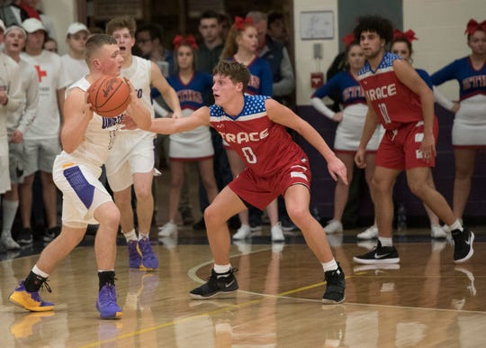 Zane Trace High School's and Unioto High School's boys basketball teams face off at ZT on Friday as they play for the second time this season.