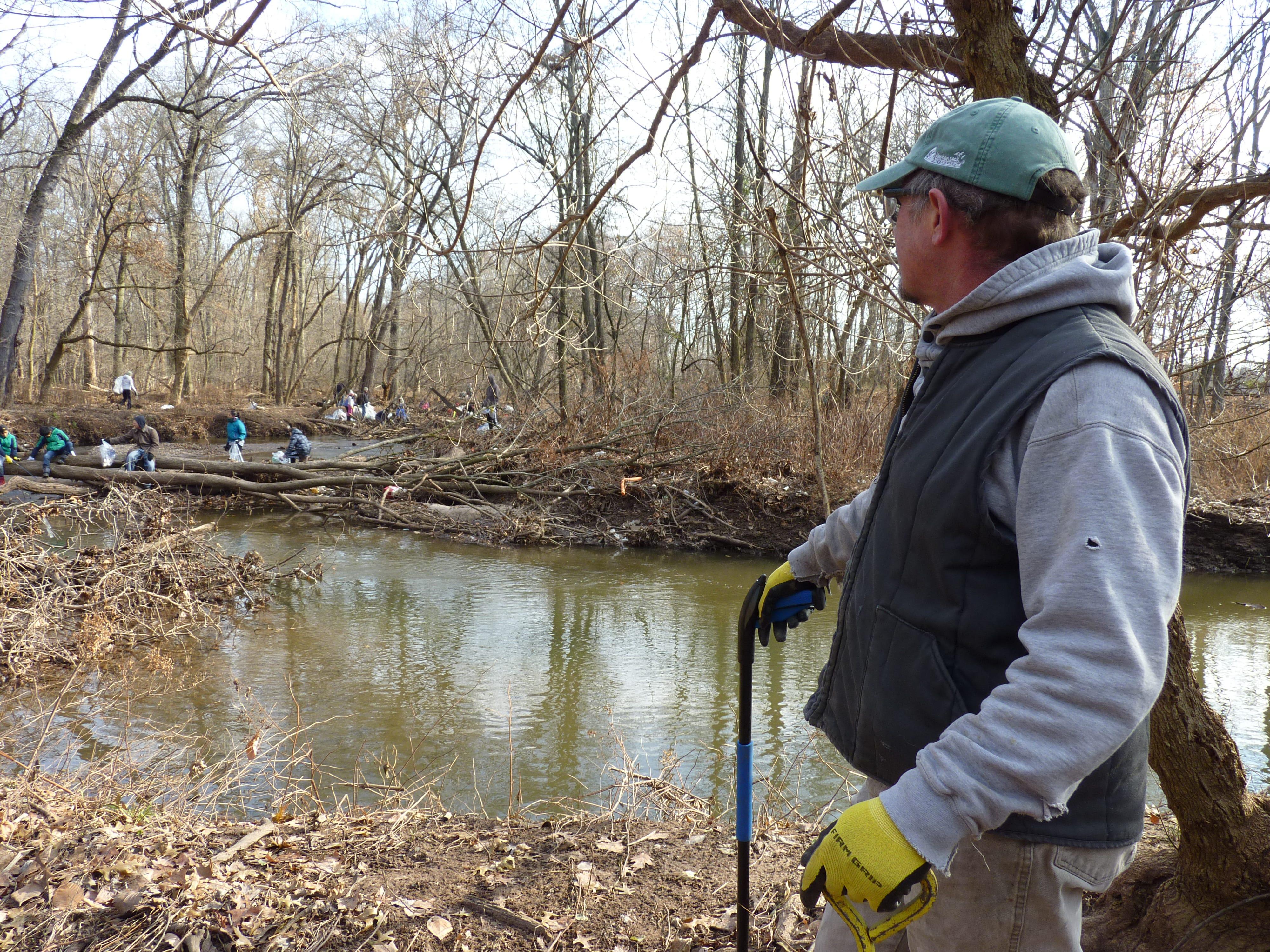 Rob Gillies, board president of Hackensack Riverkeeper, in Green Brook on Dec. 8, 2018.
