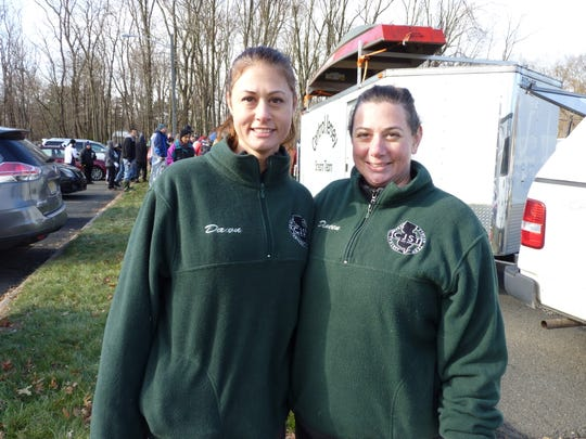 Dawn Moeller, left, and Dineen Van Deursen whose family founded Central Jersey Stream Team in 2013.