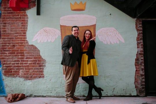 Iowa Columnist Courtney Crowder with her fiance, Scott Graca.