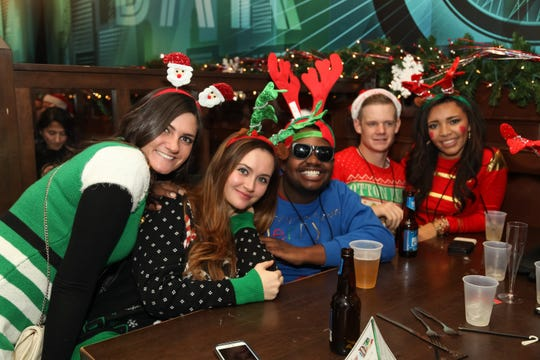 Drink specials of $3, $4 and $5 will be available during the  Santa Pub Crawl.