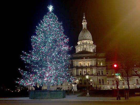 Christmas Tree Lansing