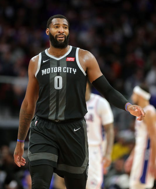 Pistons 76ers, Andre Drummond