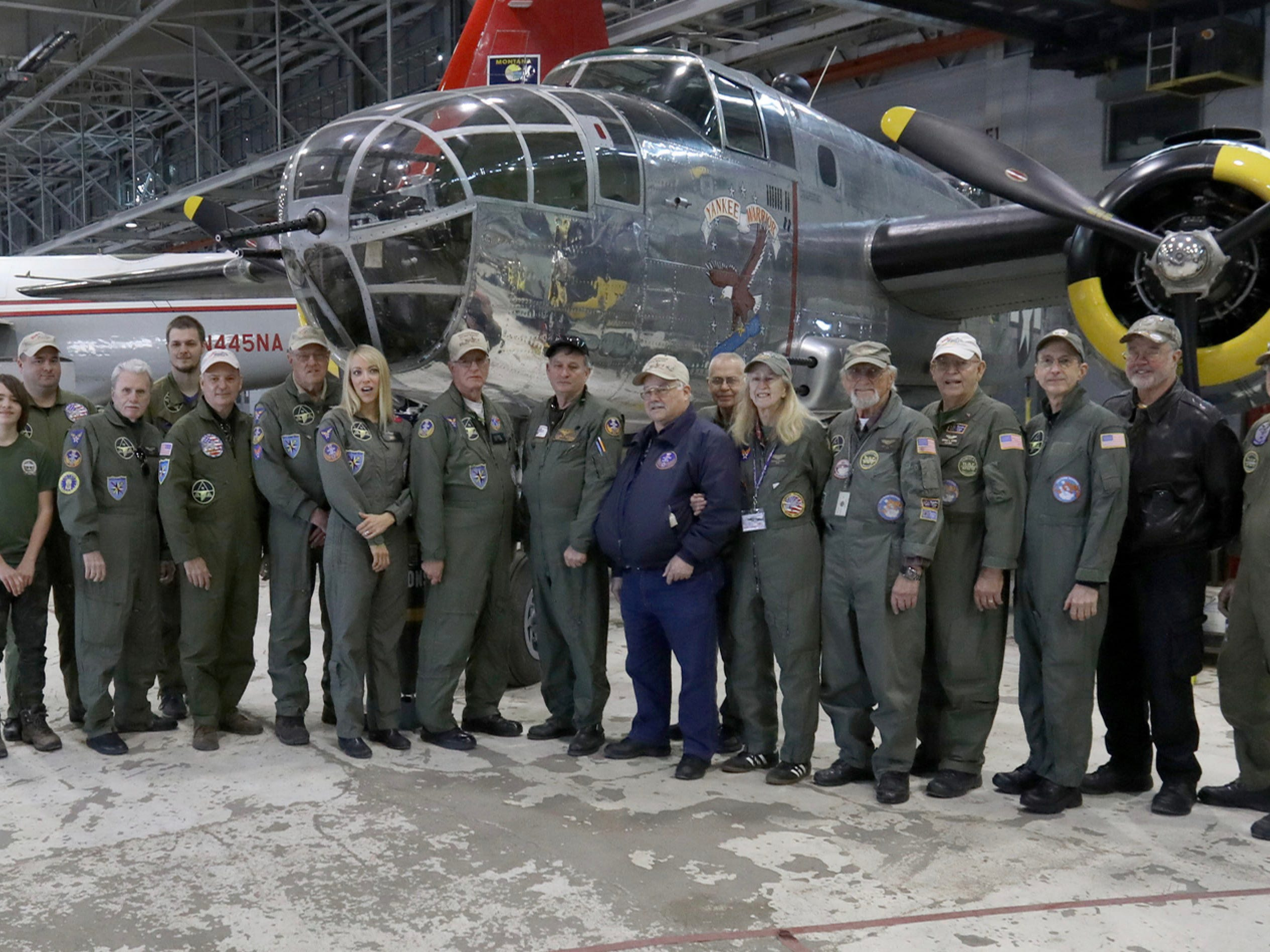 Yankee Air Museum hosts 75th birthday for last WWII bomber of its kind