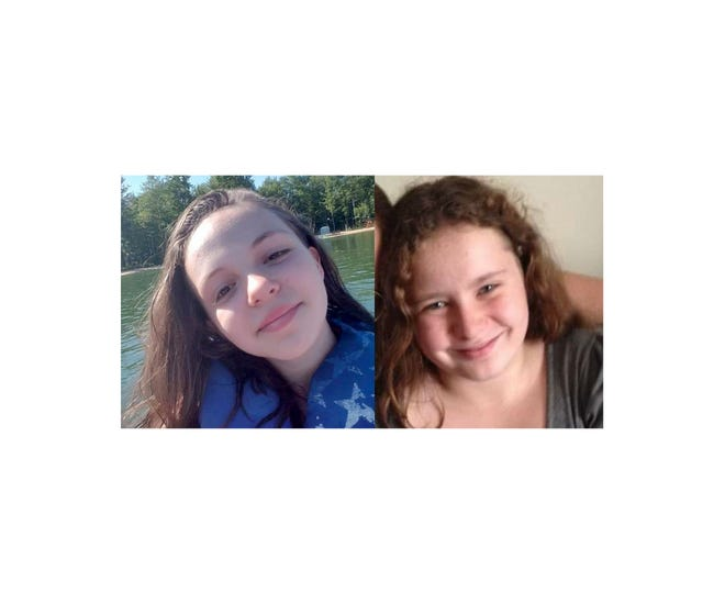 Cadillac police announced on Saturday, Dec. 8, 2018 that they are searching for 2 missing girls. Trinity Machoswki, 13, left, and Arrianna Schings, 14, who did not come home Friday night. The girls were last seen with 34-year Christopher Wagenschutz in a 1998 Subaru Legacy with the license plate: DYR699.