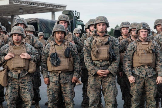 Us Military Politics Border Migration