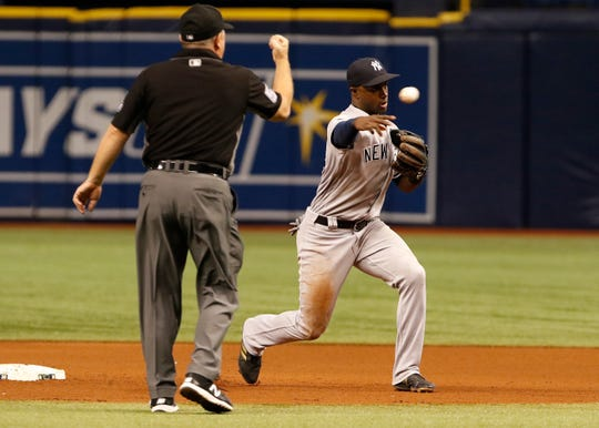 Adeiny Hechavarria is one of the shortstops on the Tigers' shopping list.