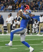Lions tight end Levine Toilolo has 10 catches in 12 games this season.