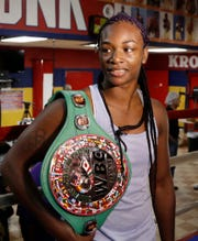 Flint's Claressa Shields ready to answer question who is the greatest woman boxer when takes on Christina Hammer for the undisputed middleweight title on Saturday in Atlantic City, N.J.
