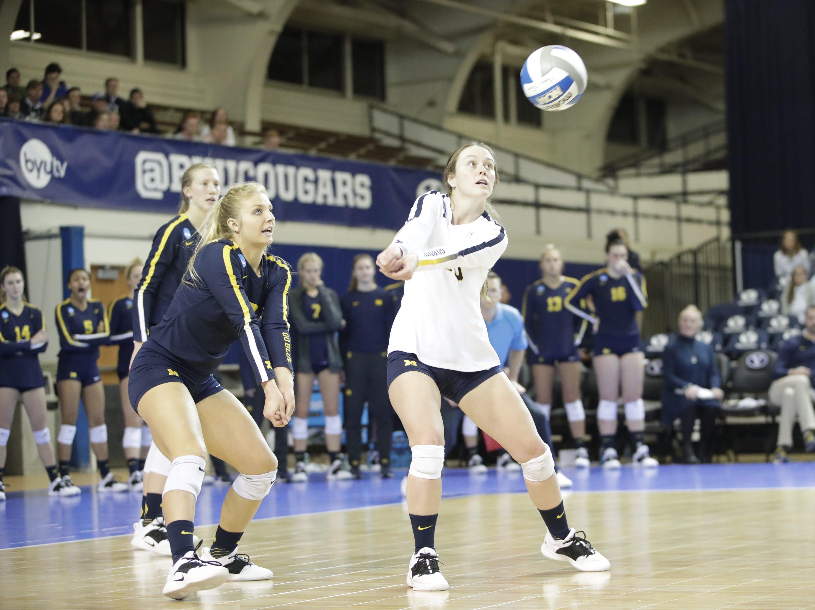 Michigan volleyball rally comes up short at NCAA Tournament