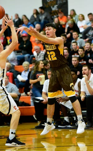 Old Fort's Zach DeWese scored 20 points against Gibsonburg.