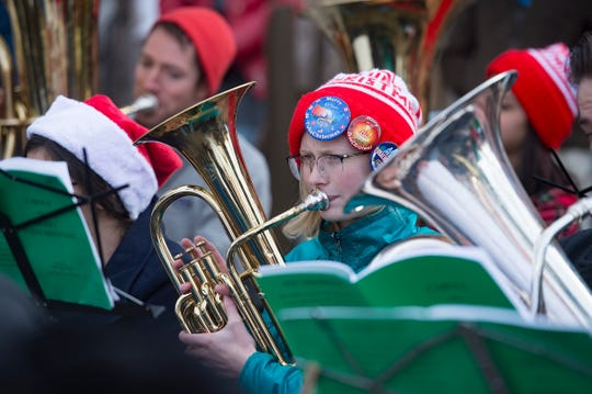 Tuba Christmas Rancho Mirage will perform a live public concert on Dec. 6, 2019 at The River at Rancho Mirage