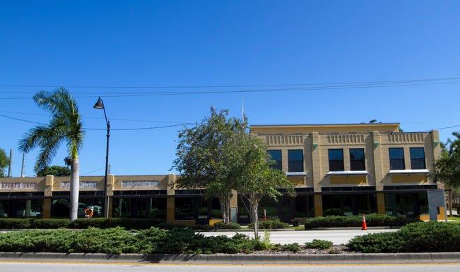 McCollum Hall's exterior renovation is complete. Amanda Inscore/The News-Press