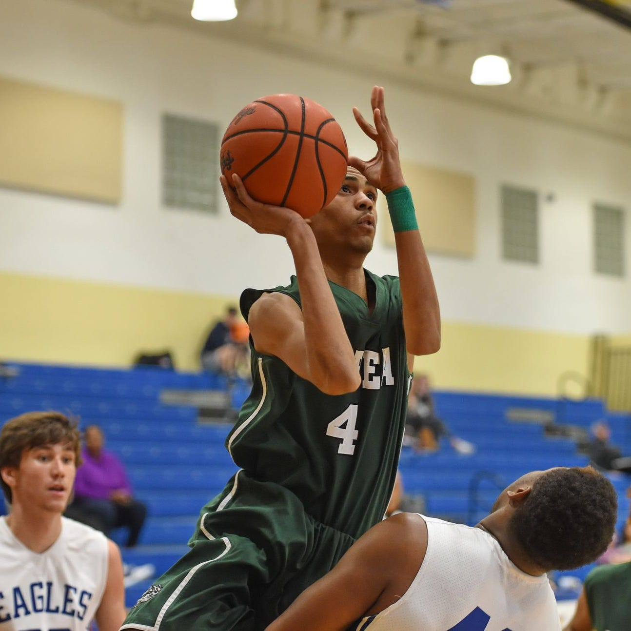 Jermarkus Boozer, shown in an earlier game against Eastside, scored 14 points in Berea's loss at Carolina Friday night.