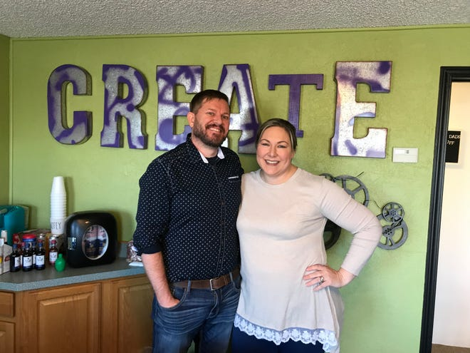 "Ryan and Becky Acra have been involved in several Great Falls businesses and recently opened a new venture, called ""The Get It Factory."""