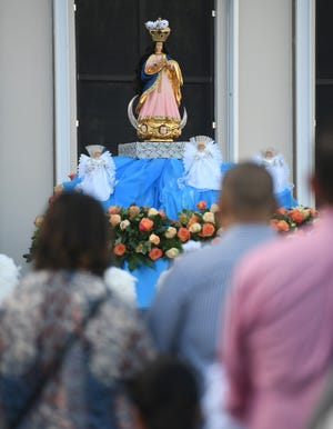 Archbishop Michael Byrnes will reconsecrate Guam to the Virgin Mary on Saturday.